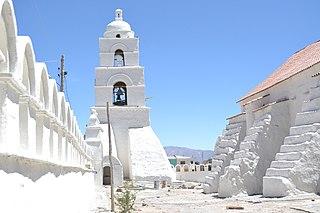Sabaya Place in Oruro, Bolivia