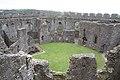 Restormel Castle - view of interior courtyard.jpg