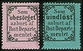 ReturnStampsNorway1872Michel I-II.jpg
