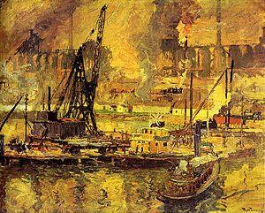 Henry Reuterdahl - Image: Reuterdahl Blast Furnaces
