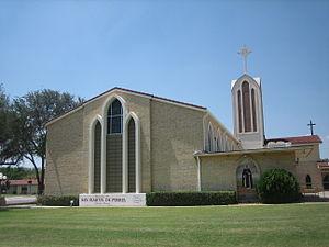 Martin de Porres - San Martin de Porres Catholic Church in Laredo, Texas