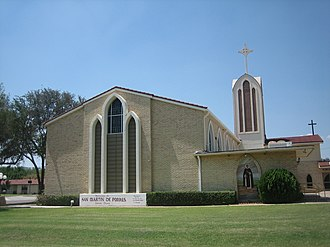 Martin de Porres - San Martin de Porres Catholic Church in Laredo, Texas