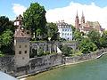 Rhine in Basel seen from a bridge.jpg