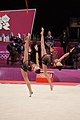 Rhythmic gymnastics at the 2012 Summer Olympics (7915305762).jpg