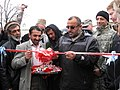 Ribbon cutting - opening of Bakshi Khiel Bridge - Panjshir Province - 01-26-2008.jpg