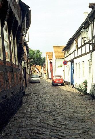 Ribe - Street in Ribe