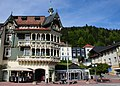 Rich ornamented building in Sankt basilien. Now a fashion shop - panoramio.jpg