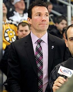 Luke Richardson Canadian ice hockey player and coach