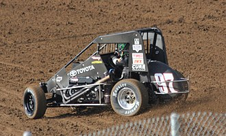 Mike Curb - Rico Abreu's 2014 USAC Midget car