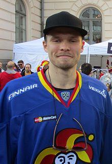 Riku Helenius Finnish ice hockey player