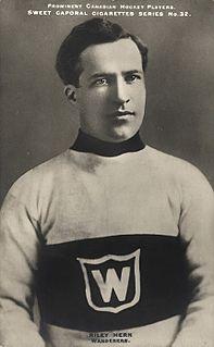 Riley Hern ice hockey goaltender from Canada