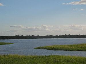 San Antonio, Paraguay - View of the Rio Paraguay