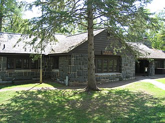 Jay Cooke State Park - The River Inn is the visitor center for the park and was built by the Civilian Conservation Corps