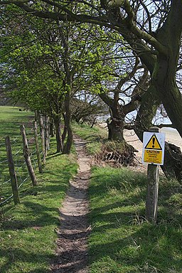 Riverside footpath - geograph.org.uk - 766909