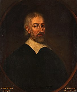 Robert Boyd (university principal) Scottish theologian