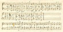 Zwei Choräle, die Schumann wahrscheinlich im Juni 1856, in der Zeit intensiver Bibellektüre, komponiert und notiert hat[156] (Quelle: Wikimedia)