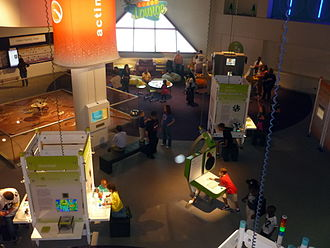 Carnegie Science Center - Roboworld at the Carnegie Science Center.