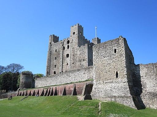 Rochester Castle in Rochester, Kent