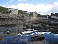 Rockpools and Disused Mill at Port Quin - geograph.org.uk - 518868.jpg