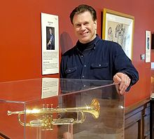 Roger Ingram at the Kentucky Museum with his 1600i trumpet.jpg