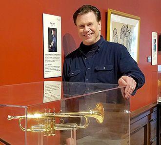 Roger Ingram - Roger Ingram at the Kentucky Museum with his 1600i trumpet
