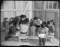 Rohwer Relocation Center, McGehee, Arkansas. Miss Rose Shada, teacher. A third grade class at this . . . - NARA - 538959.tif