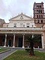 Roma, Basilica di Santa Cecilia, facciata.jpg