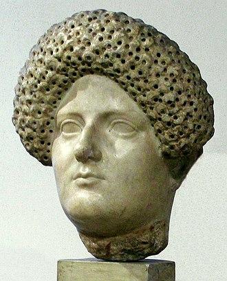 Domitia Longina - Domitia Longina (82-92), National Museum in Warsaw