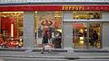 Devanture de la boutique Ferrari à Rome.