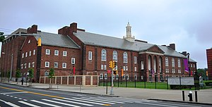Roosevelt Hall at Brooklyn College, June 2013
