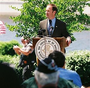 Peter Roskam - Roskam attends a Memorial Day service in the 6th district.