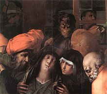 Rosso Fiorentino - Deposition from the Cross (detail) - WGA20131.jpg