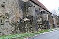 Rothenburg ob der Tauber, Stadtbefestigung, Spitalhofmauer, 001.jpg