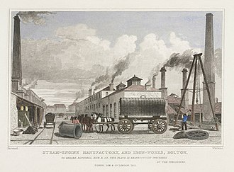 Benjamin Hick - Image: Rothwell Hick & Co Steam Engine Manufactory and Iron Works, Bolton