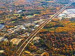 Route 3 and fall foliage in Hanover aerial, November 2016.jpg