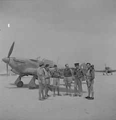 Royal Air Force- Operations in the Middle East and North Africa, 1939-1943; Royal Air Force, 335 Squadron CBM1720.jpg