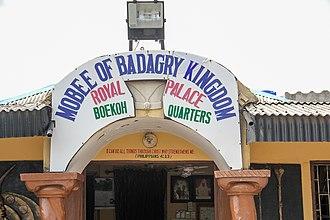 Badagry - Image: Royal Palace of Mobee of Badagry 01