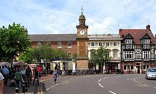 Rugby, Warwickshire market town in Warwickshire, England, UK