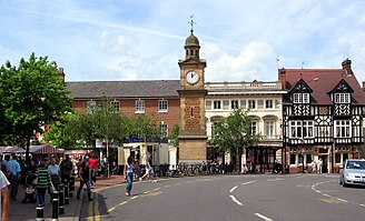 Rugby, Warwickshire - Image: Rugby town centre