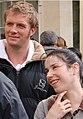 Rupert Penry-Jones and Sally Hawkins making the 2007 movie Persuasion.jpg