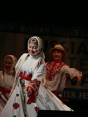 Chuvash people - Image: Russian Winter Festival London 2007 121