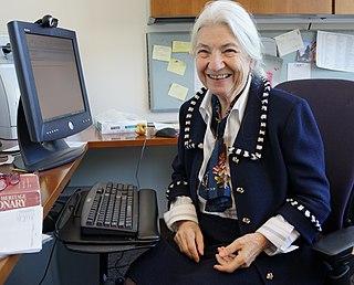 Ruzena Bajcsy American computer scientist