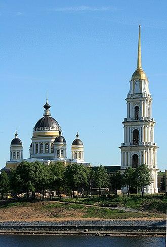 Avraam Melnikov - Image: Rybinsk church viewed from Volga