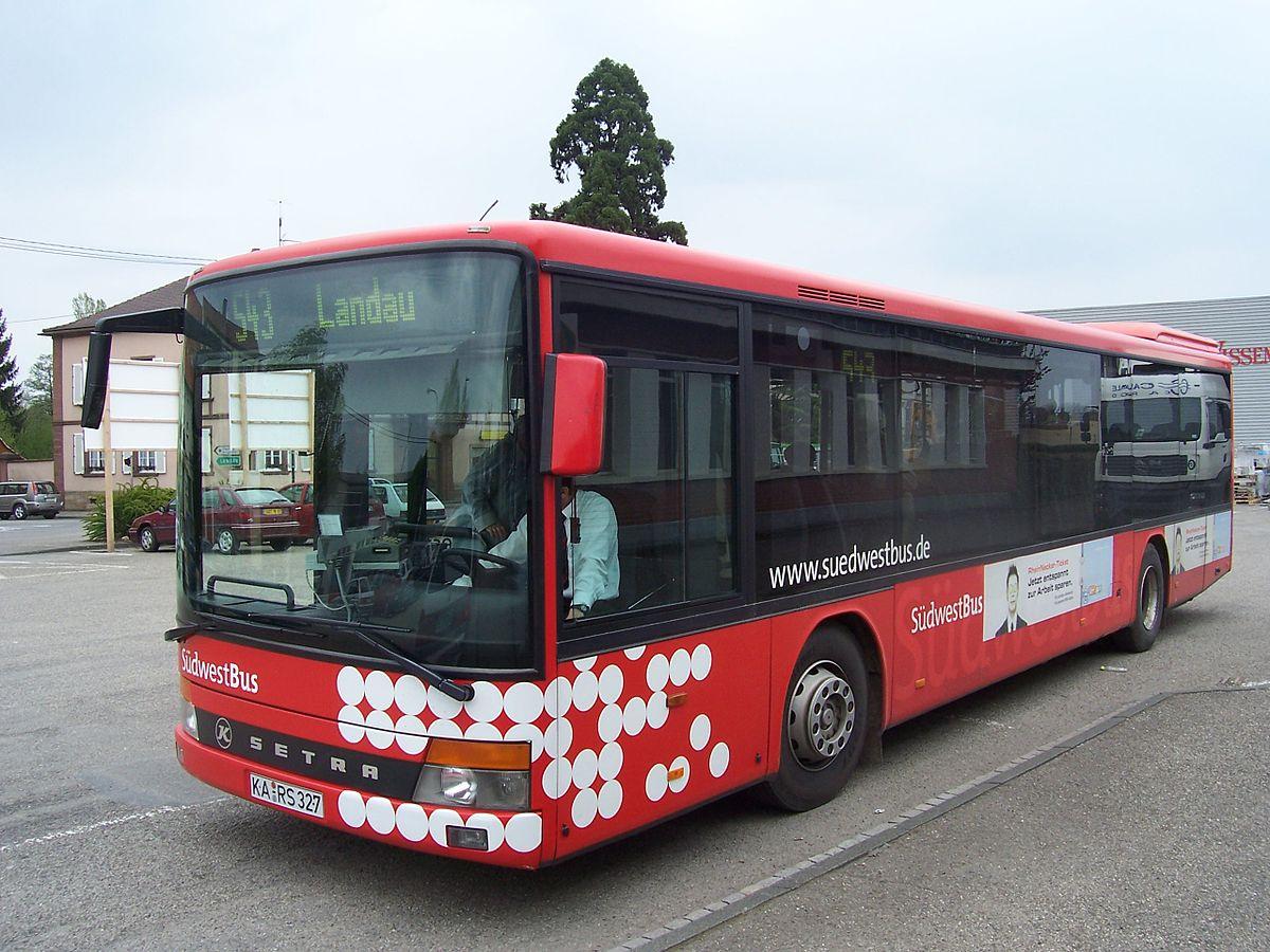 Bus mantel nach weiden