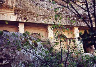 Ihlara valley - Facade of the Sümbüllü Kilise