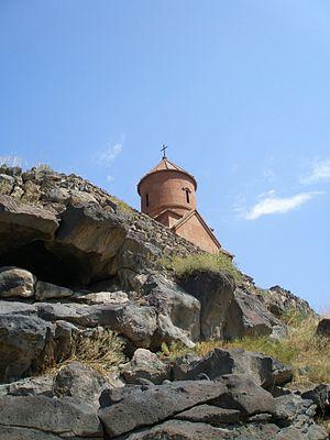 Saint Sarkis Church of Ashtarak - Image: S. Sargis Below