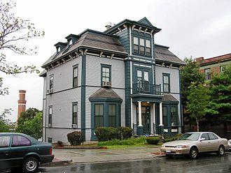 Louis Prang - Louis Prang House, Roxbury, Boston, Massachusetts