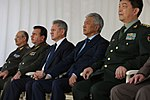 SCO Defense Ministers during a festival of Military Massed Bands.jpg