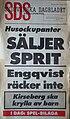 SDS, Löpsedel 1990-10-09.jpg