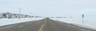Saskatchewan Highway 4 - Image: SK highway 4